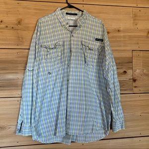 Men's PFG Columbia Button Down • Long Sleeve • XL